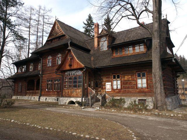 Willa Witkiewiczówka przy ulicy Antałówka 6
