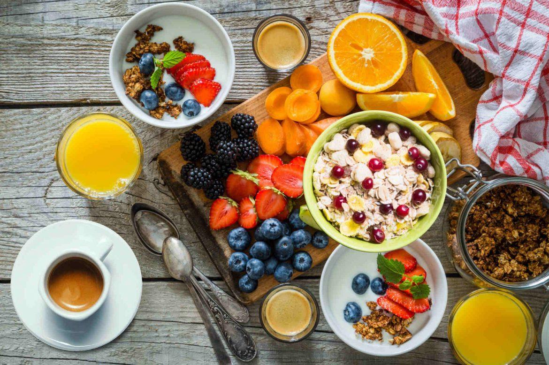kawa na śniadanie