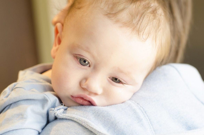 Bardzo chore dziecko