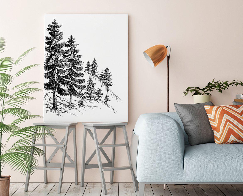 fototapeta z motywem drzewa