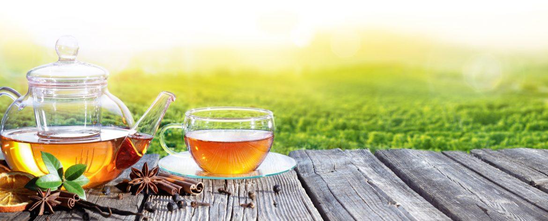 Herbata w plenerze