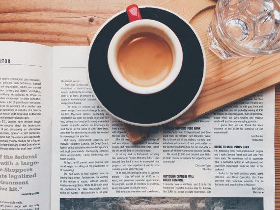 Espresso i książka