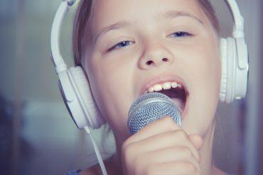 dziecko w talent show