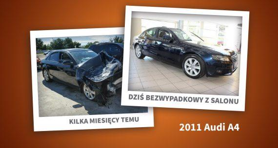 Auto przed i po