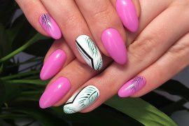 Manicure hybrydowy - trendy