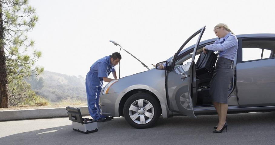 Mobilny mechanik samochodowy