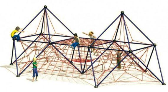 Linowy plac zabaw dla dzieci
