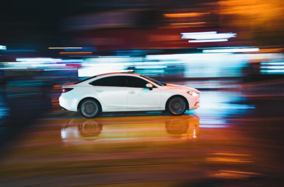 Szybkie auto