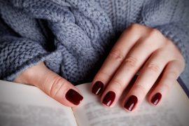 paznokcie trendy jesienne