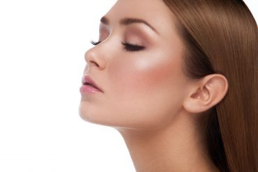 Idealnie zadbana skóra twarzy