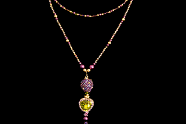Kolorowa biżuteria Swarovski