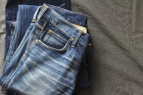 Niebieskie jeansy