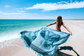 pareo na plażę