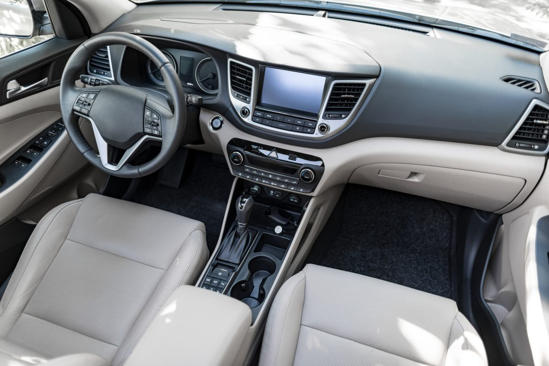 Czyste wnętrze samochodu