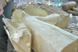 Ozdoba z drewna