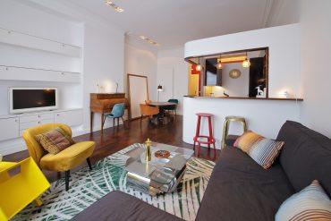 meble tapicerowane w salonie