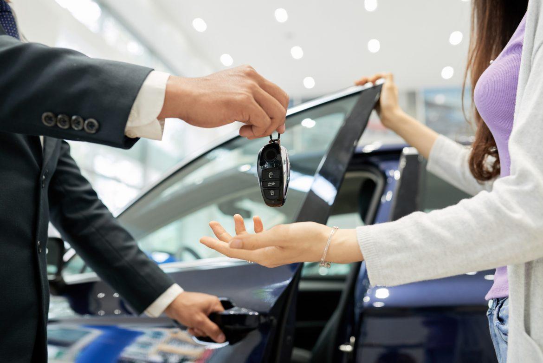 Odbiór kluczyków do samochodu