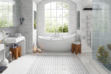 nowoczesny wystrój łazienki