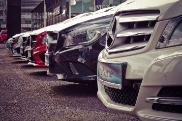 Samochody w linii