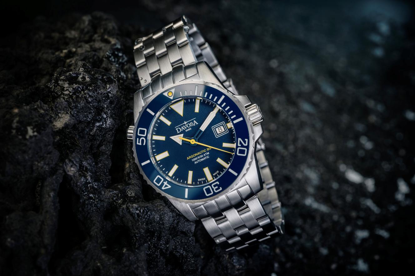 Zegarek szwajcarski Davosa