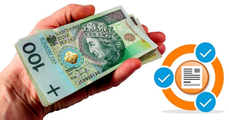 Pieniądze przez internet