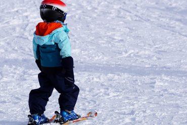 narty z dziećmi