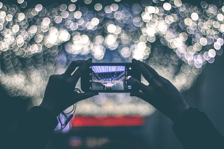 zdjęcie smartfonem