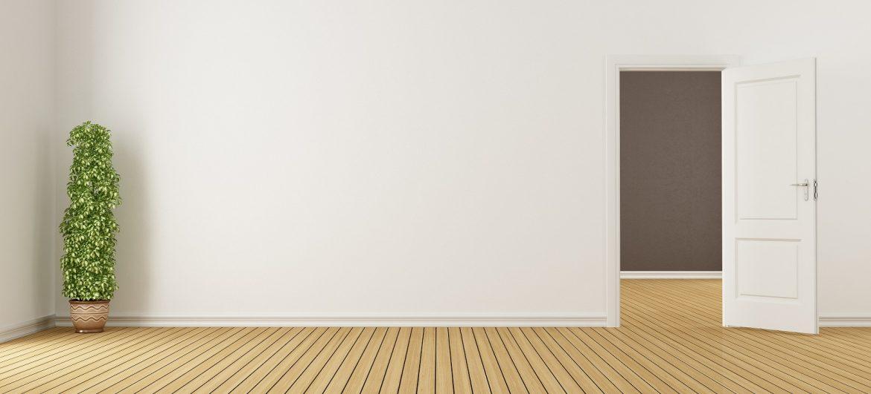 Drzwi pasywne w mieszkaniu