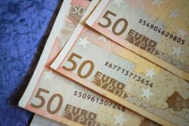 pieniądze euro nominał 50