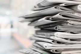 sterta tradycyjnych gazet