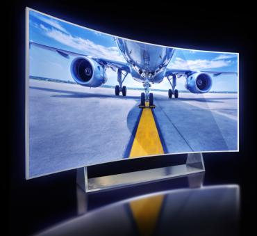telewizor z zakrzywionym ekranem