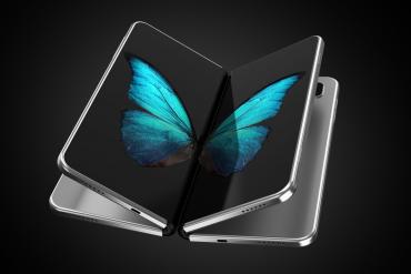 składany smartfon motyl