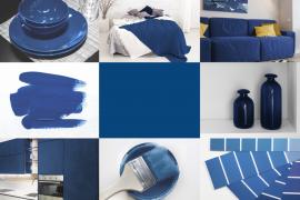 pomysły aranżacji w kolorze classic blue