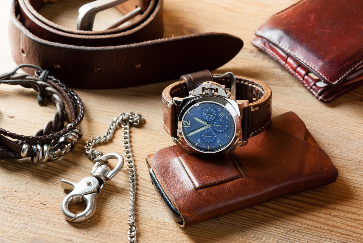 zegarek męski z tarczą w kolorze classic blue