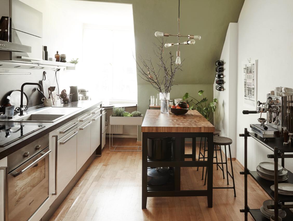 jesienne kolory w wystroju wnętrza kuchnia