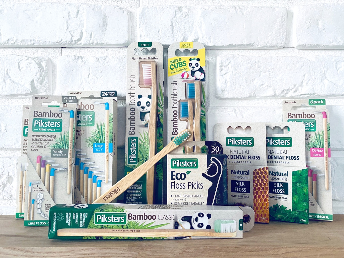 Produkty naturalne Piksters Bamboo