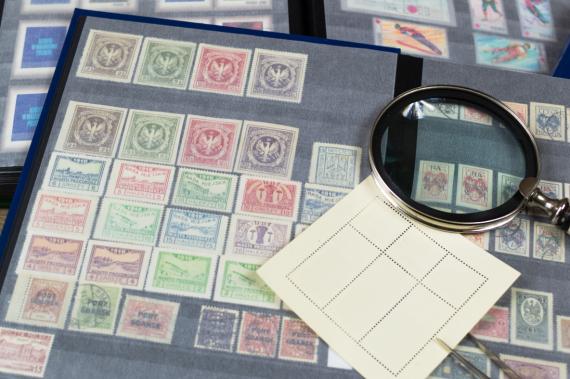 Znaczki pocztowe - kolekcja filatelistyczna