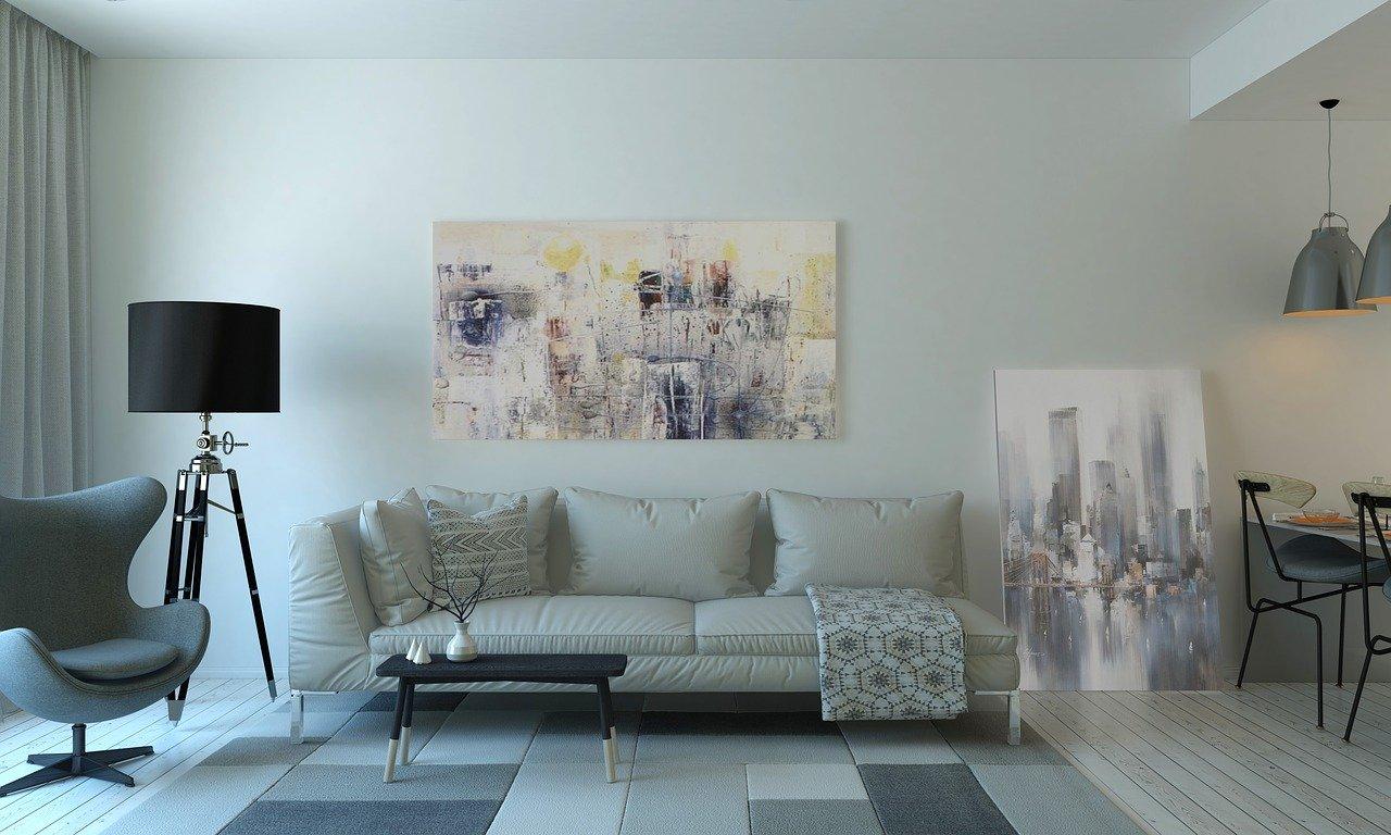 meble w nowoczesnym salonie