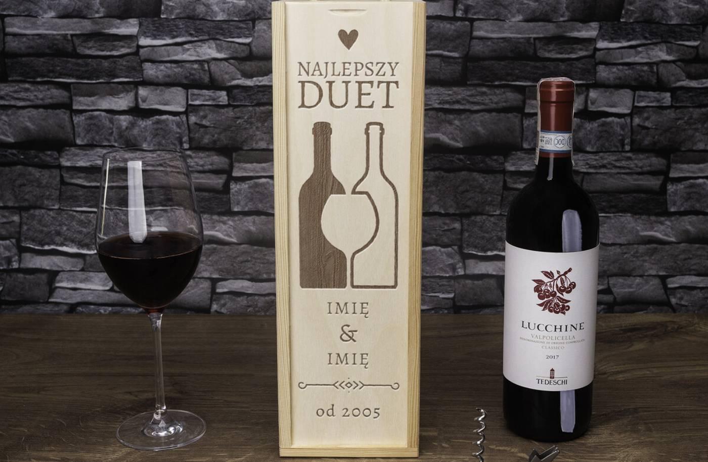personalizowane wino