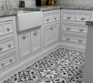 podłoga w kuchni Kolekcja arte 25x25