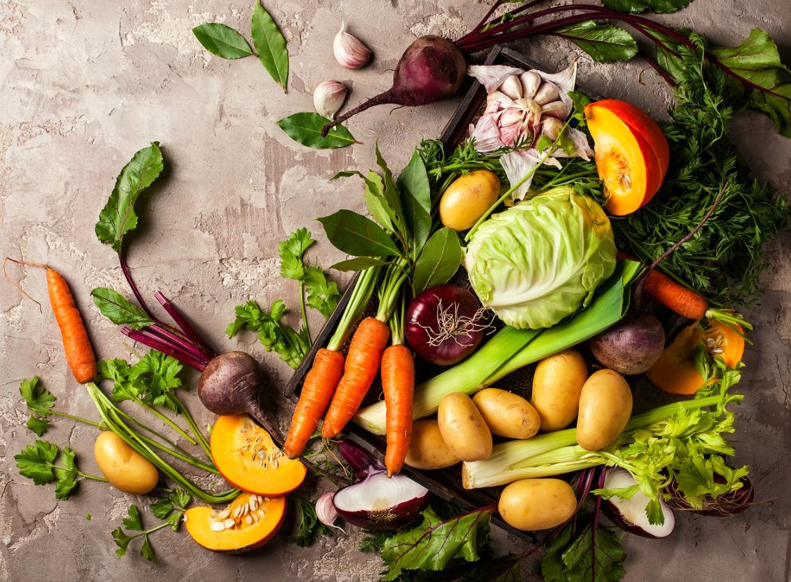 zimowe warzywa
