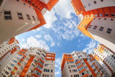 kolorowe mieszkania nowoczesne budownictwo