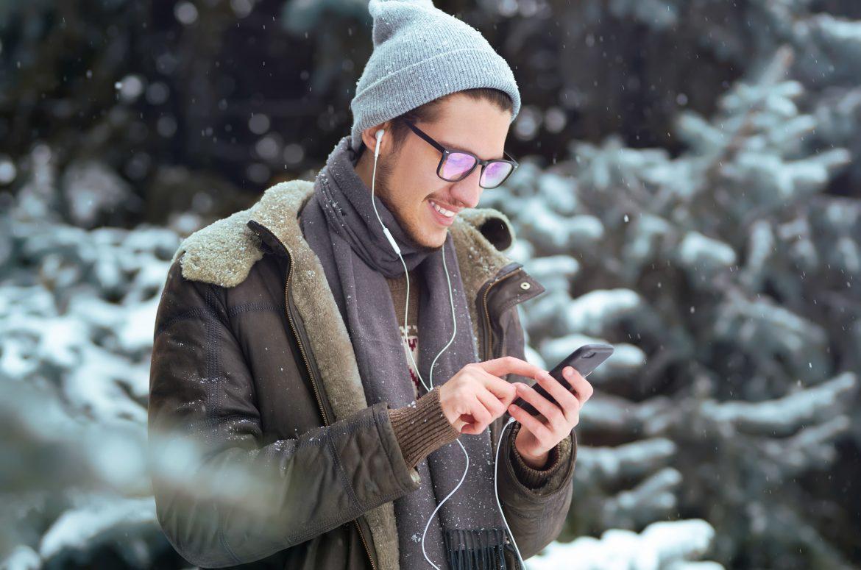 mężczyzna streetwear kurtka zimowa