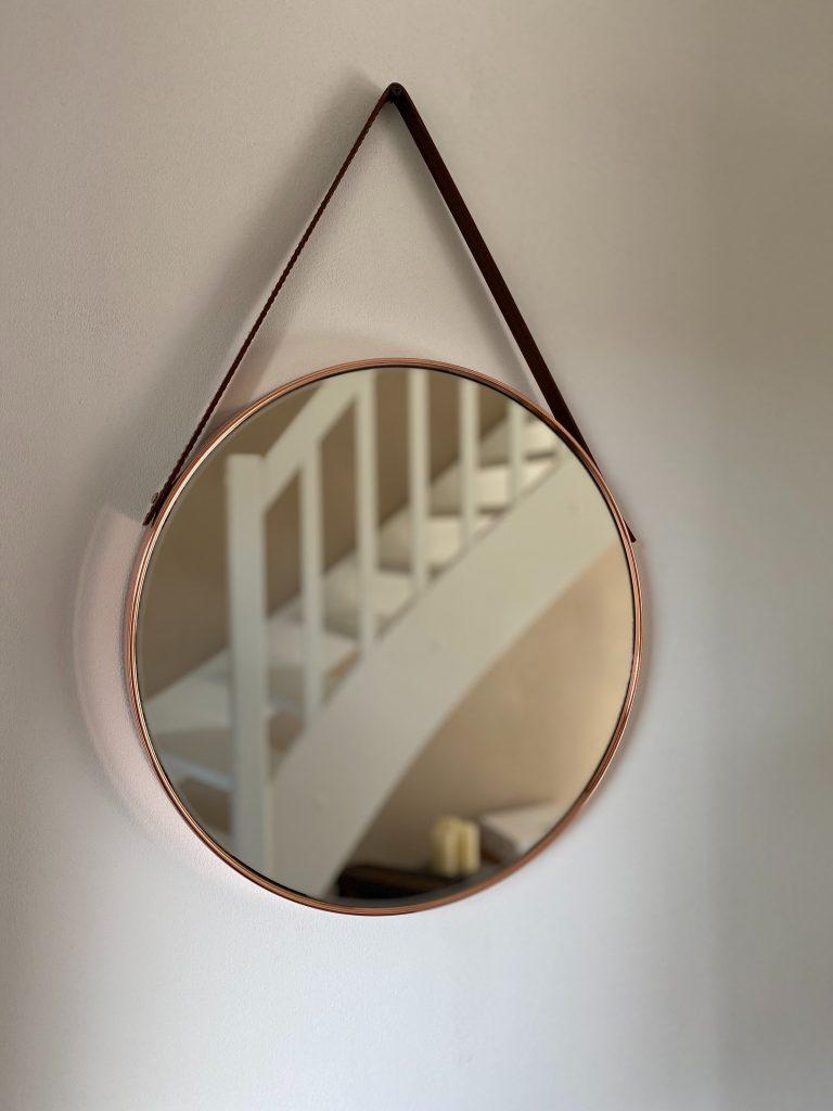 oryginalne okrągłe lustro