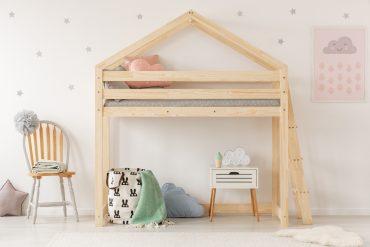 łóżko z antresolą