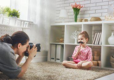 sesja fotograficzna dziewczynki