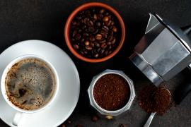 kawa kawiarka ziarna