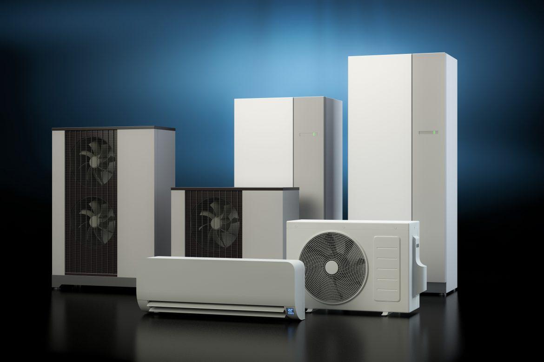nowoczesna powietrzna pompa ciepła