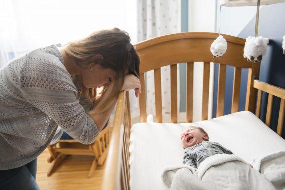 noworodek nie chce spać