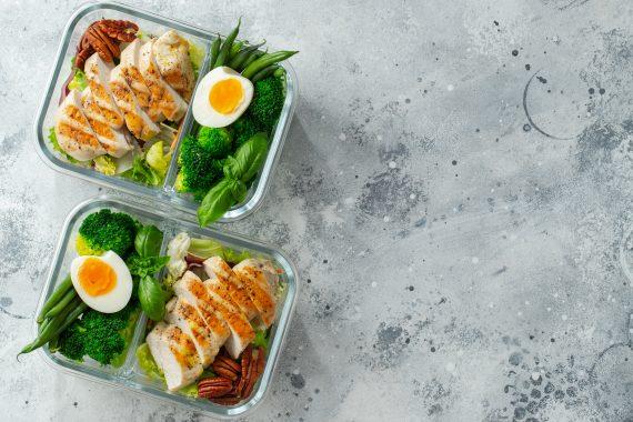 lunchboxy z przegródkami